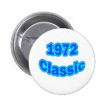 Azul clásico 1972 pin