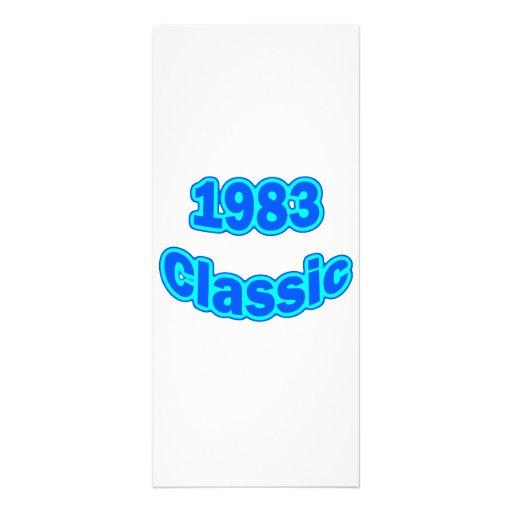 """Azul clásico 1983 folleto publicitario 4"""" x 9"""""""