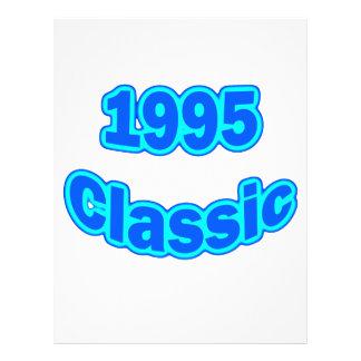 "Azul clásico 1995 folleto 8.5"" x 11"""