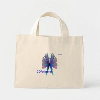 azul-clavada, 3Dfacinator, 3DDDude Bolsa Tela Pequeña