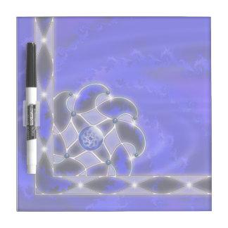Azul como el tablero seco del borrado del mar pizarras blancas de calidad