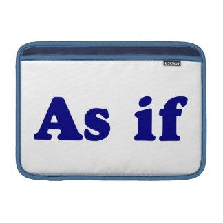 Azul como si fundas MacBook