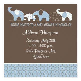 Azul con las invitaciones de la fiesta de invitacion personal