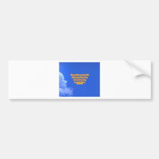 azul copy 01 bumper sticker