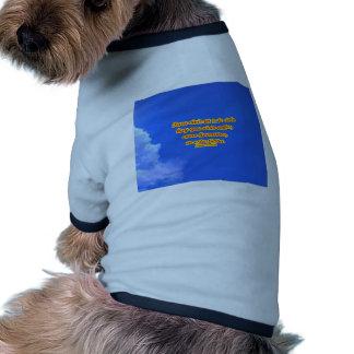 azul copy 01 dog tshirt
