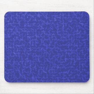 azul cubicado alfombrillas de ratones