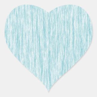 Azul-Curaçao-Fibra-Modelo Pegatina En Forma De Corazón