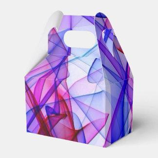 Azul de ABBY del arte de la llama Cajas Para Regalos