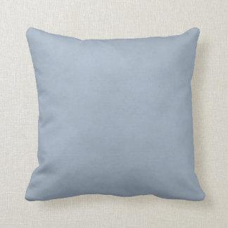 * Azul de acero ligero abigarrado Almohadas