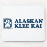 Azul de Alaska de Klee Kai Tapete De Ratón