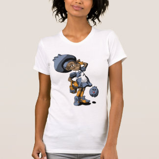 Azul de Betty Camiseta