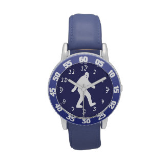 Azul de Bigfoot Relojes De Mano