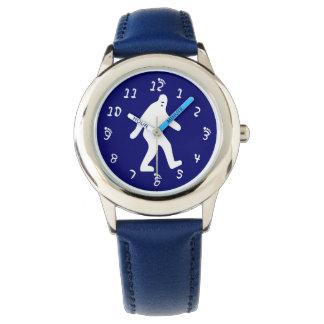 Azul de Bigfoot Relojes De Pulsera