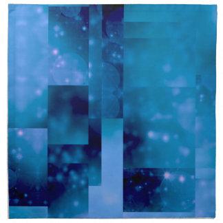 Azul de Bokeh 01 Servilleta