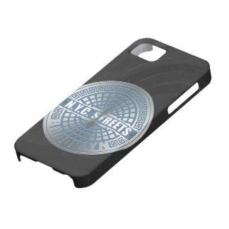 Azul de Brooklyn de la cubierta de boca iPhone 5 Case-Mate Cobertura
