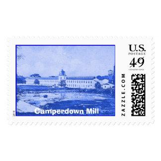Azul de Camperdown - un sello de la onza