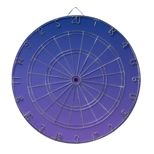 Azul de Catalina a la pendiente horizontal púrpura