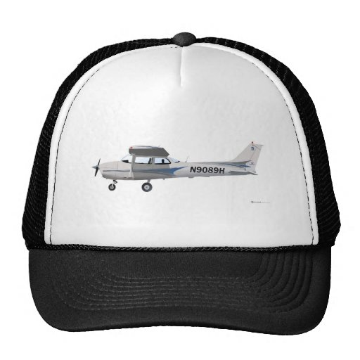 Azul de Cessna 172 Skyhawk Gorro De Camionero