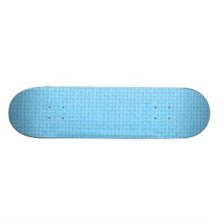 Azul de cielo acolchado monopatin personalizado
