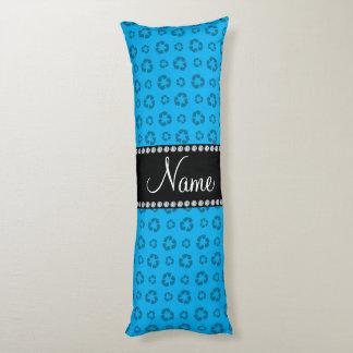 Azul de cielo conocido personalizado que recicla cojin cama