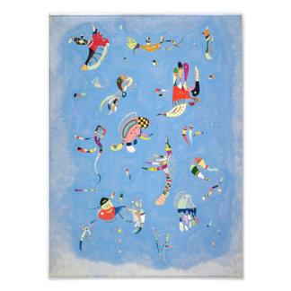 Azul de cielo de Kandinsky Cojinete