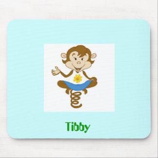 Azul de cielo de Tibby Tapete De Raton