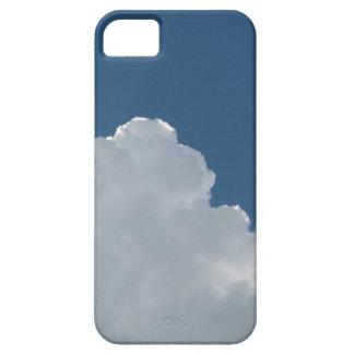 Azul de cielo - en parte nublado iPhone 5 carcasa