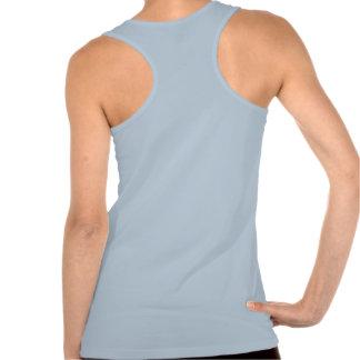 Azul de cielo: Estilo: Los tanques de Racerback de T Shirts