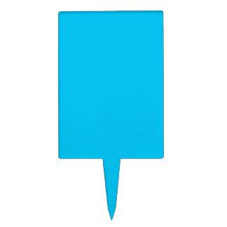 Azul de cielo figura para tarta