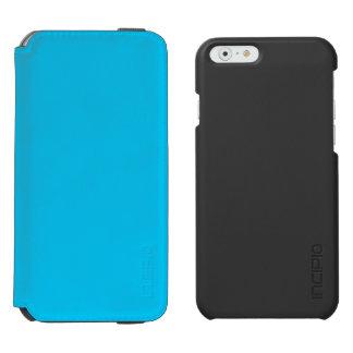Azul de cielo funda billetera para iPhone 6 watson
