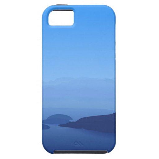 Azul de cielo iPhone 5 Case-Mate carcasa