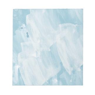Azul de cielo libretas para notas