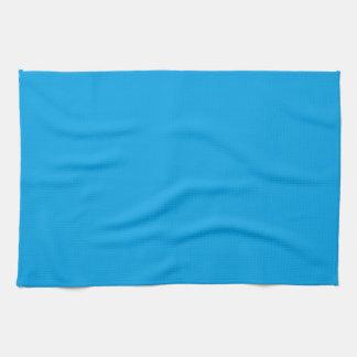 Azul de cielo nada pero del color solamente toalla de mano