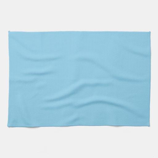 Azul de cielo toallas