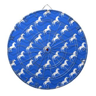 Azul de cobalto, caballo blanco, Equestrian, Chevr