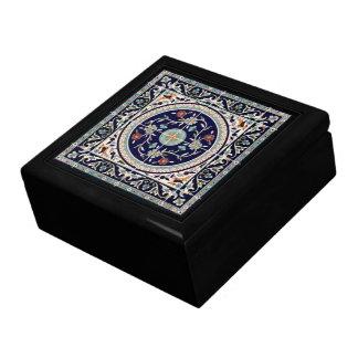 Azul de cobalto palestino de la baldosa cerámica - caja de regalo