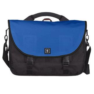 Azul de cobalto sólido bolsa de ordenador