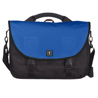 Azul de cobalto sólido bolsas para portátil
