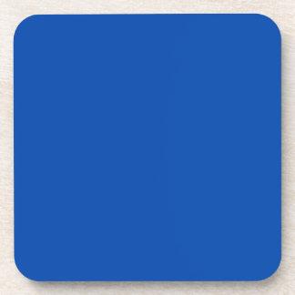Azul de cobalto sólido posavasos