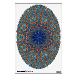 Azul de cobre - arte para su asiento de inodoro