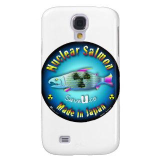 Azul de color salmón nuclear