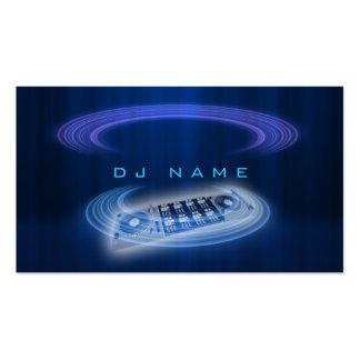 Azul de DJ Tarjetas De Visita