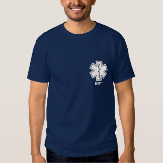 Azul de EMT Remera