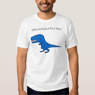 Azul de Grumposaurus Rex Playeras