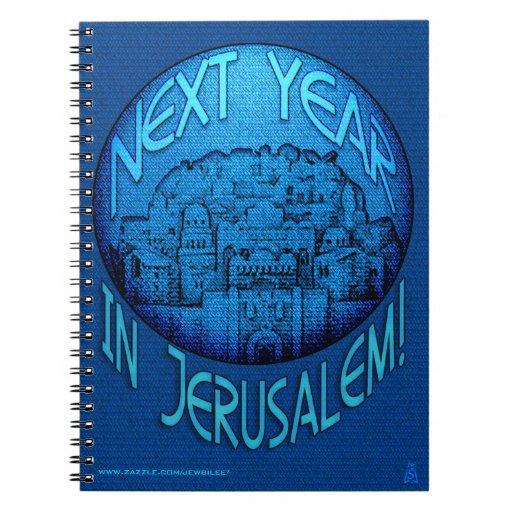 Azul de Jerusalén Libretas