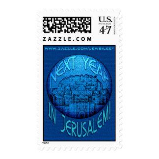 Azul de Jerusalén Timbres Postales