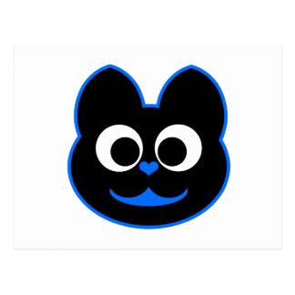 Azul de KiKi Kat Postal