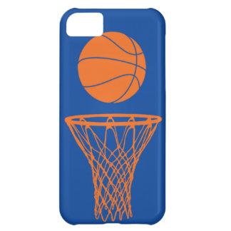 azul de Knicks de la silueta del baloncesto del iP