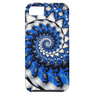 Azul de la amoladora funda para iPhone SE/5/5s
