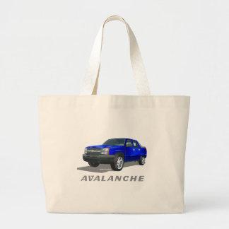 Azul de la avalancha de Chevrolet Bolsa Lienzo